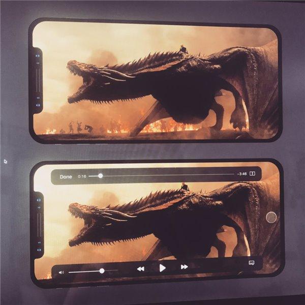 """骇科技丨苹果iPhone8会有一块全面屏,但系统界面该拿""""猫耳朵""""怎么办?"""