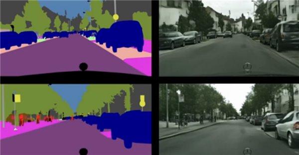 骇科技丨Intel黑科技:用AI从现实照片中构建虚构场景