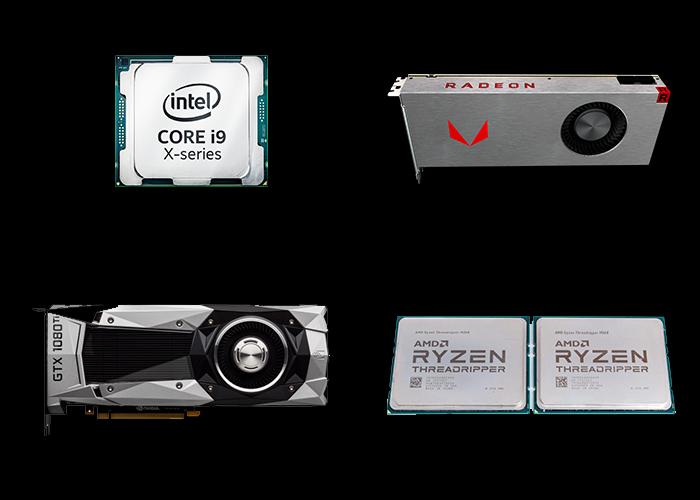 骇科技丨NVIDIA称自家显卡与AMD CPU是完美一对,Core i9、Vega显卡嫉妒