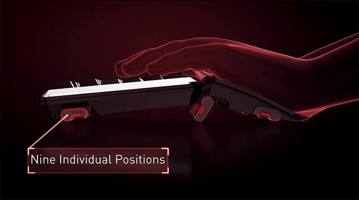 骇科技丨Cherry发布MX Board 5.0机械键盘,有个超大可调姿掌托