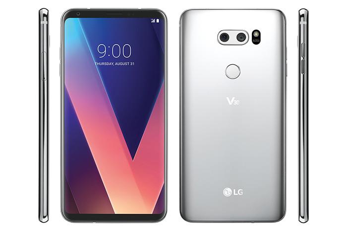 骇科技丨LG V30看起来更精美,正面超高屏占比的FullVision屏幕