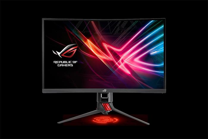 骇科技丨华硕发布ROG Strix XG27VQ显示器:27吋曲面屏、144Hz、FreeSync
