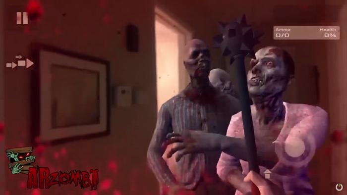 骇科技丨ARKit游戏的代入感很强,尤其是看到家里充满丧尸的时候