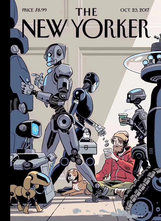骇科技丨地球新霸主?终有一天,人类会向机器人行乞
