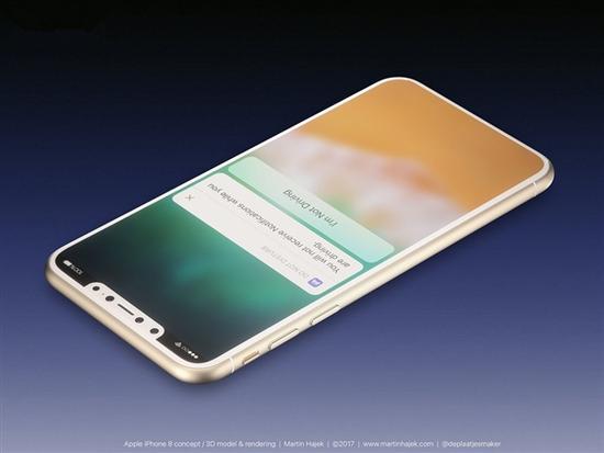 iPhone 8靠谱渲染:全部配色集齐