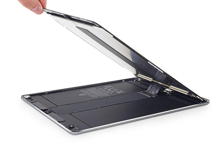 苹果10.5英寸iPad Pro拆解:不简单的120Hz刷新率屏幕
